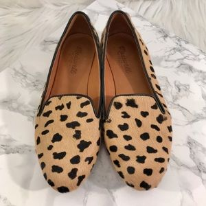 Madewell The Teddy Loafer Flats in Calf Hair